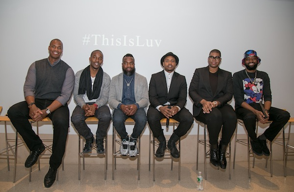 From Left to Right: Jason Collins, Wade Davis, Darnell Moore, Tiq Milan, EJ Johnson, Patrik-Ian Polk