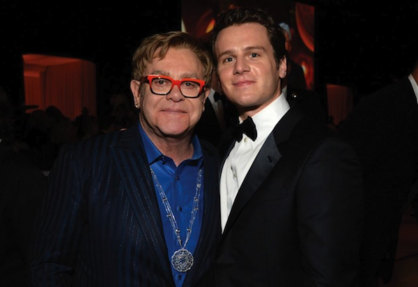 Elton John and Jonathan. Photo courtesy Getty Images