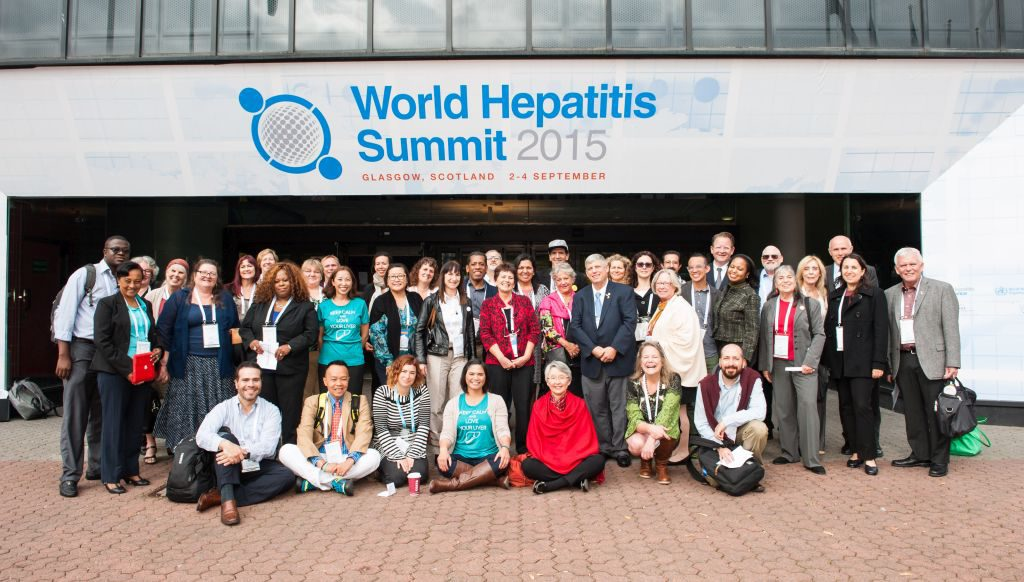 Participants at the World Hepatitis Summit. Photo courtesy WHS