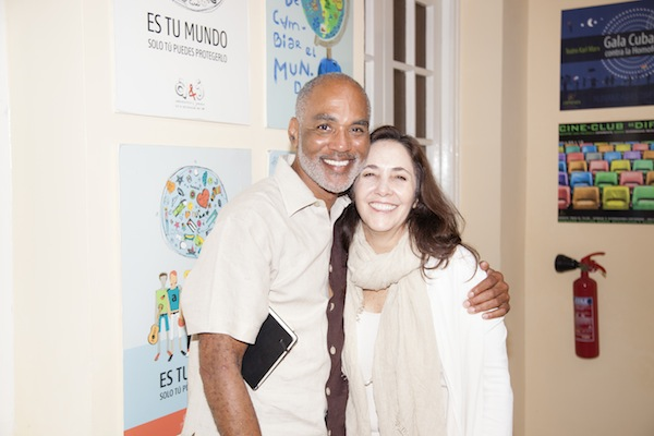 Phill Wilson and Dr. Mariela Castro Espín, director of CENESEX