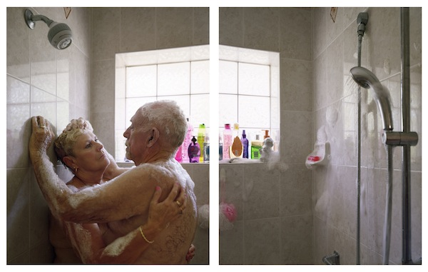 No More Tears, 2012, archival pigment prints (diptych), 40 by 60 inches