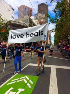 Love Heals now. Photo courtesy Gregg Cassin