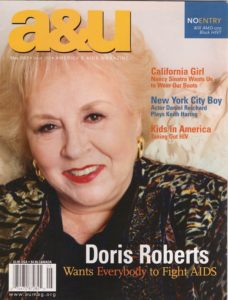 Doris Roberts cover web