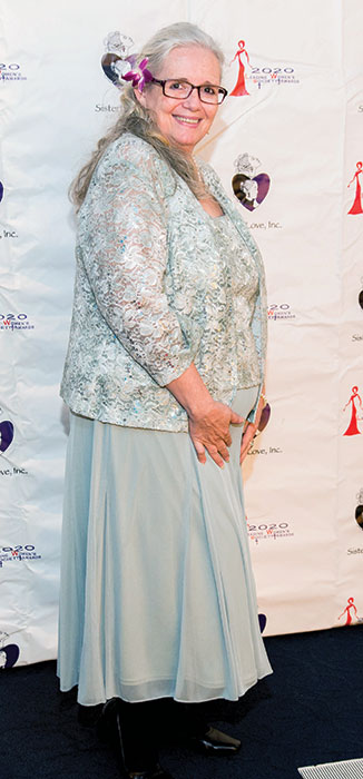 Wanda at 2020 Leading Women Society of SisterLove, Inc., induction in 2015. Photo by Cherise Richards Photography