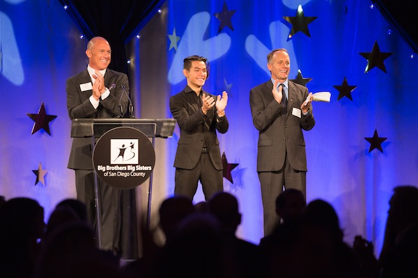 Ryan at BBBS of San Diego County 2015 Annual Gala, where he emceed. Photo courtesy BBBS San Diego