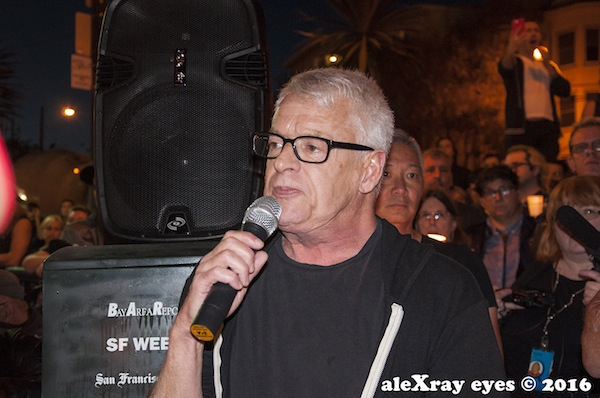 Cleve Jones. Photo by Alex Ray © 2016. All rights reserved