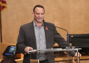 Joel Goldman, Managing Director, The Elizabeth Taylor AIDS Foundation attends The Elizabeth Taylor AIDS Foundation World AIDS Day Event co-hosted by SAG-AFTRA at the at James Cagney Boardroom on November 30, 2016 in Los Angeles, California. (Photo by Jesse Grant/Getty Images for The Elizabeth Taylor AIDS Foundation )