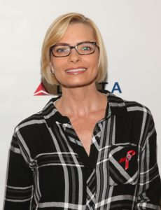 Actress Jaime Pressly attends The Elizabeth Taylor AIDS Foundation World AIDS Day Event co-hosted by SAG-AFTRA at the at James Cagney Boardroom on November 30, 2016 in Los Angeles, California. (Photo by Jesse Grant/Getty Images for The Elizabeth Taylor AIDS Foundation )