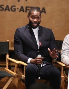 Playwright Tarell Alvin McCraney attends The Elizabeth Taylor AIDS Foundation World AIDS Day Event co-hosted by SAG-AFTRA at the at James Cagney Boardroom on November 30, 2016 in Los Angeles, California. (Photo by Jesse Grant/Getty Images for The Elizabeth Taylor AIDS Foundation )